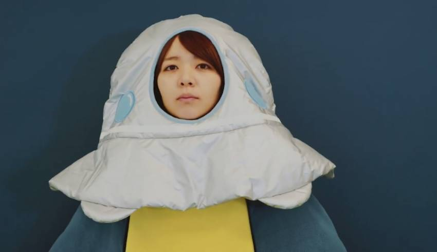 this japanese take on the snuggie turns you into a cow abducting ufo